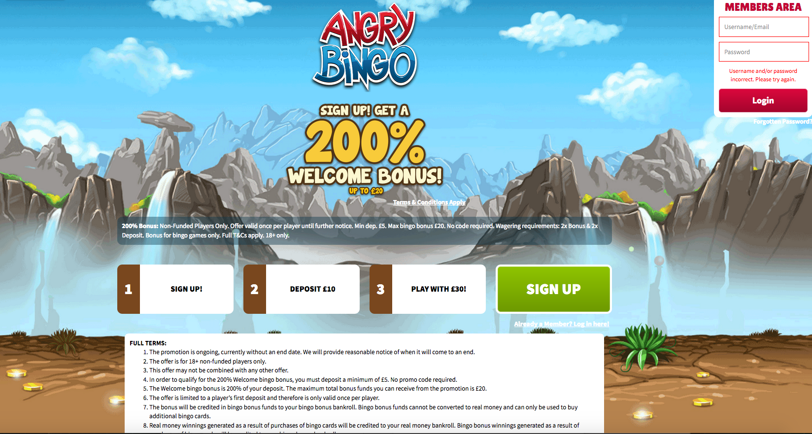 Angry Bingo Honest Review And 200 Sign Up Bonus